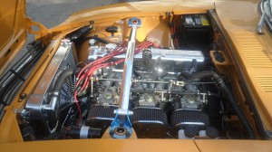 240Z L28 Engine Triple Carbs