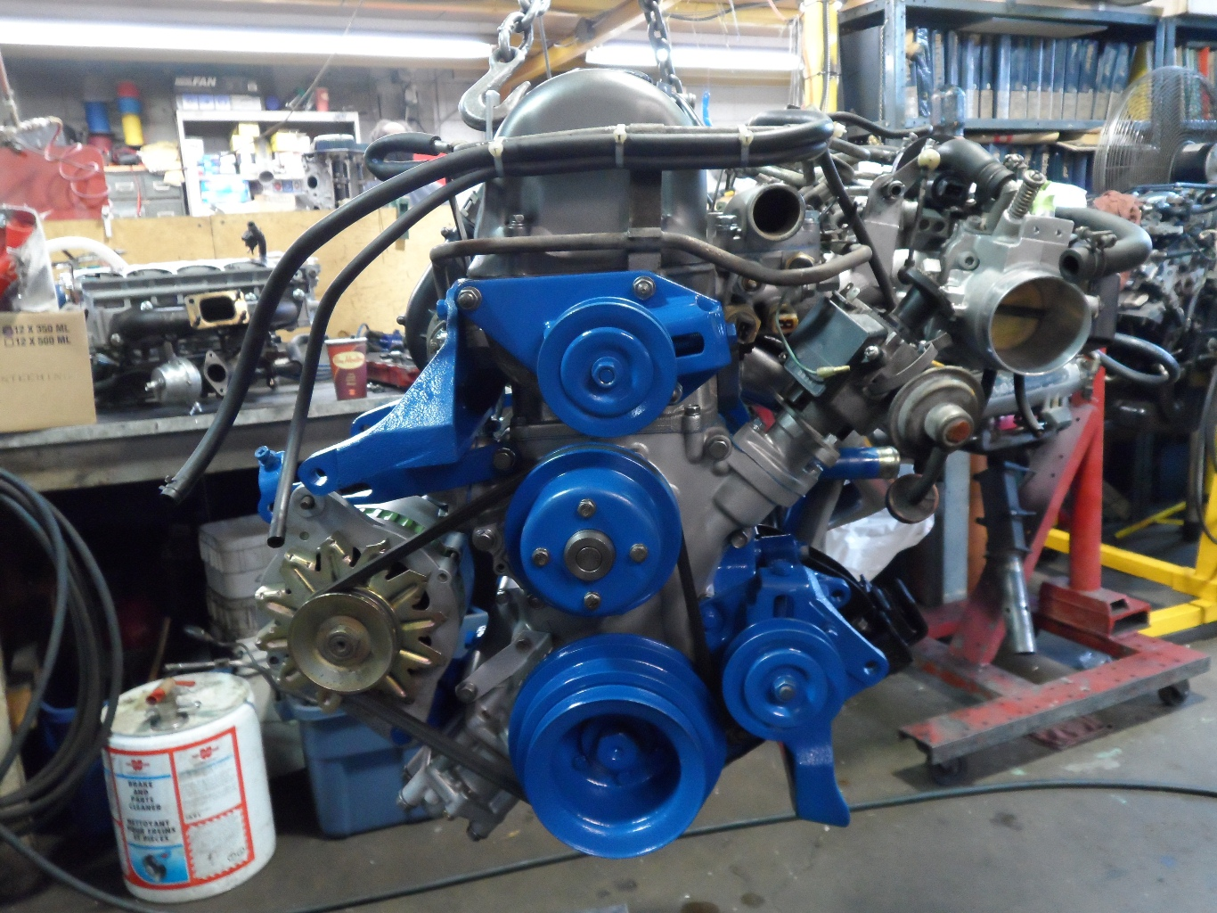1979 Datsun 280ZX L28 Stroker Engine Install + R200 Diff Build with ...
