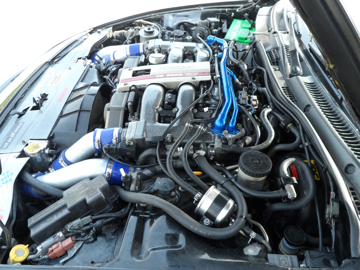 how to safely clean a car engine