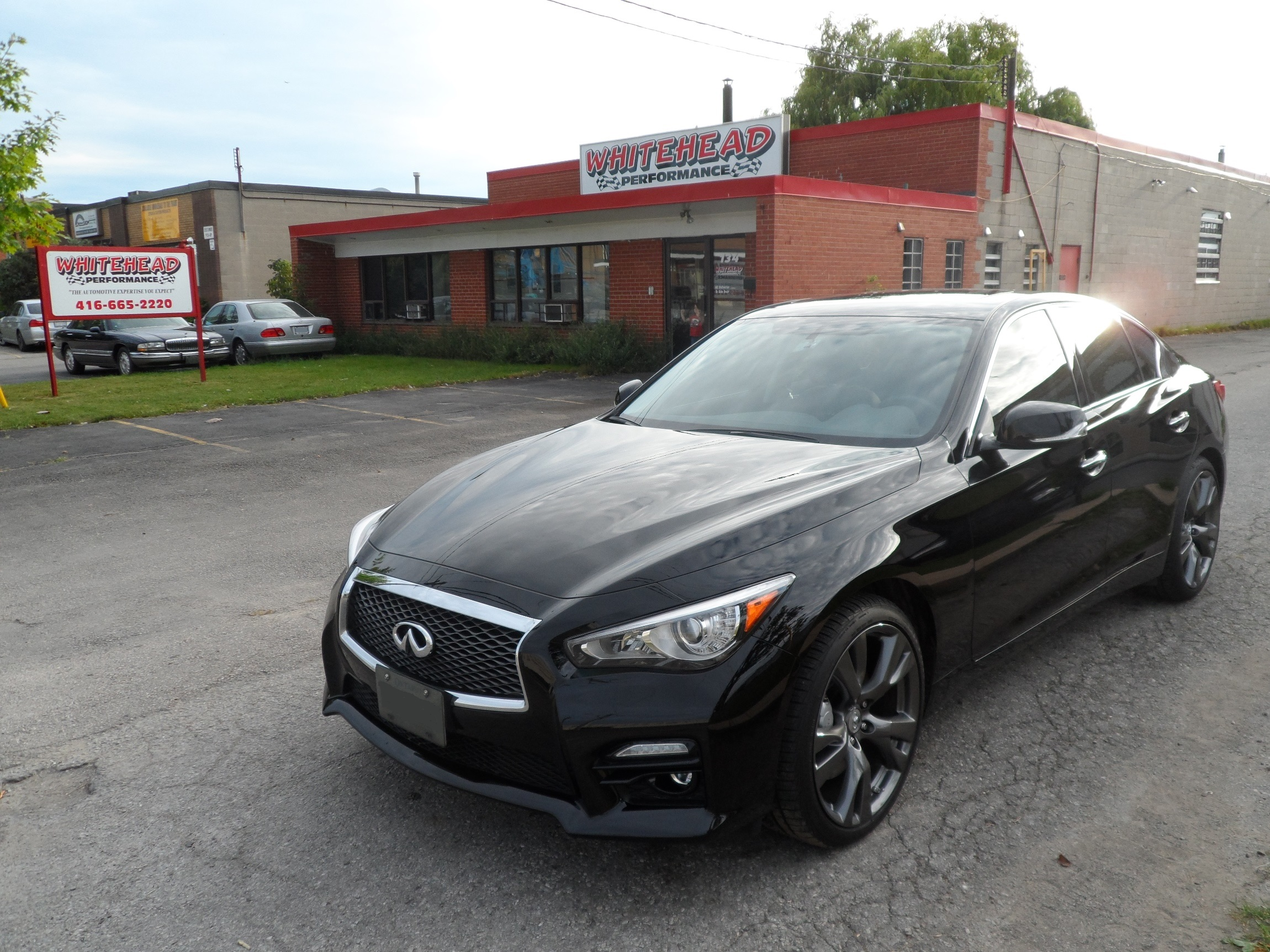 Q50 performance parts in Toronto | Whitehead Performance