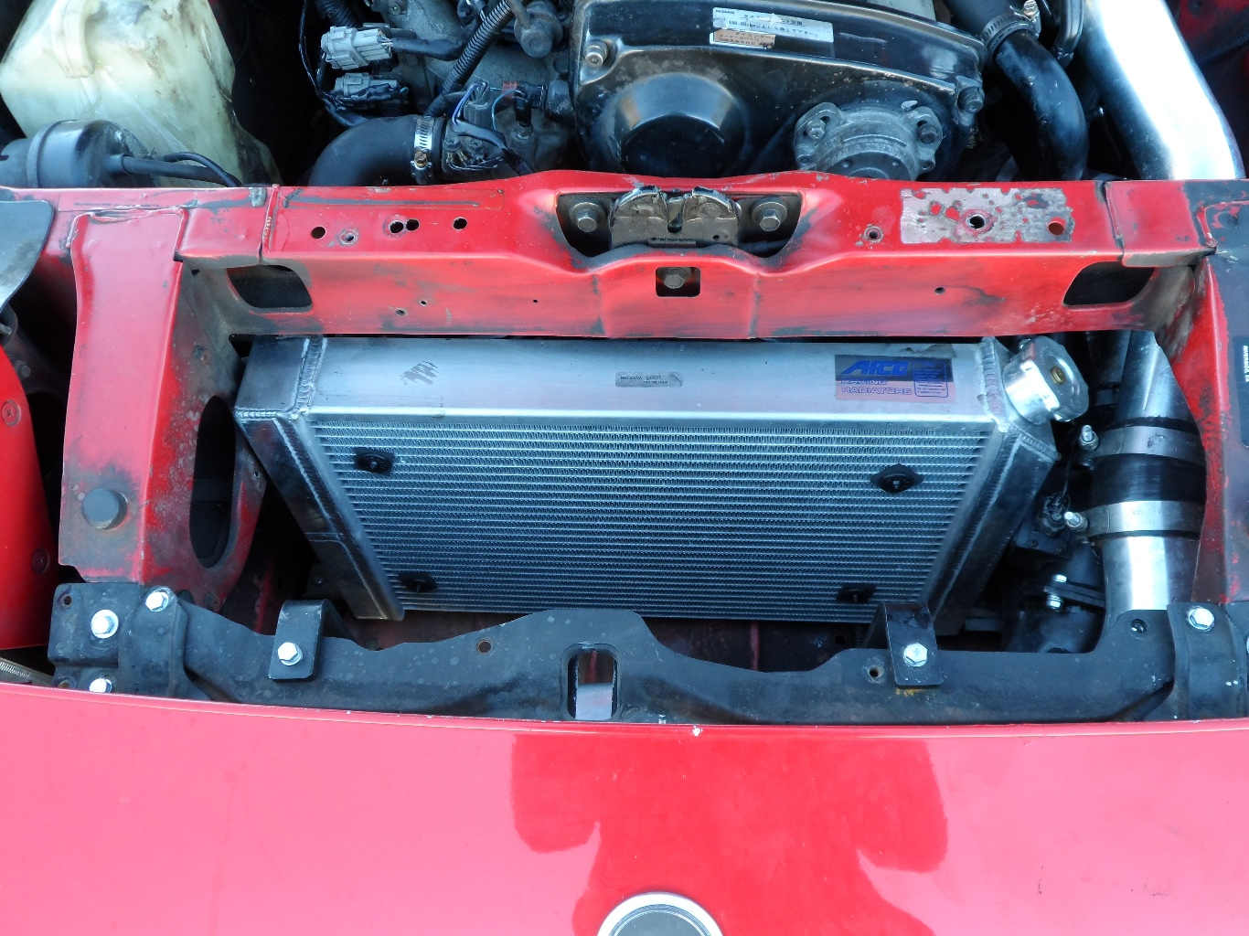 300ZX Z31 RB25 Front
