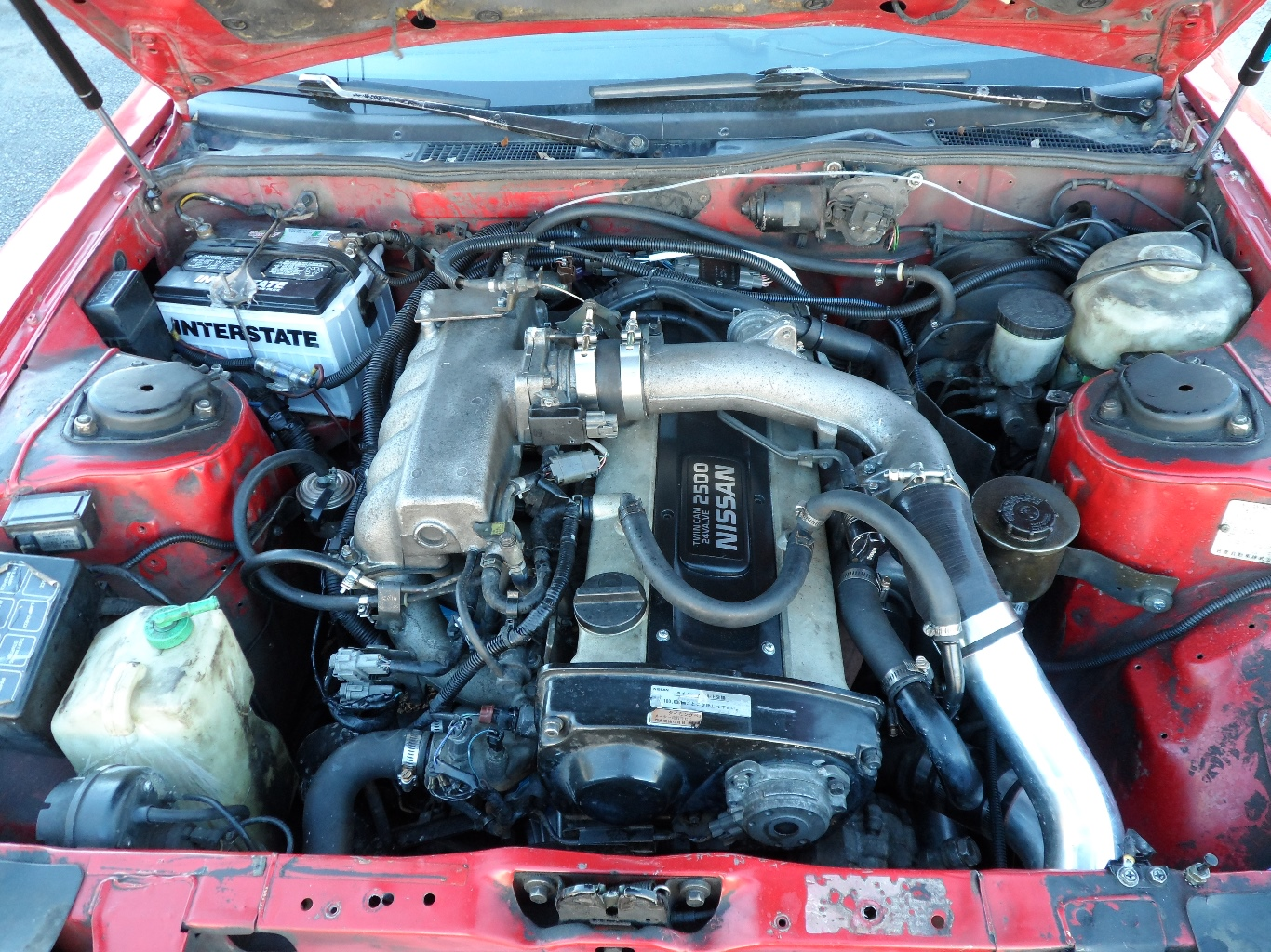 1988 Nissan 300zx Turbo Rb25det Engine Swap Whitehead