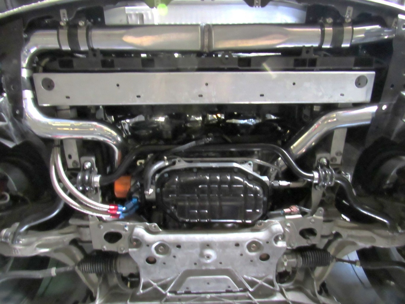 370Z Twin Turbo Intercooler and Piping (2)