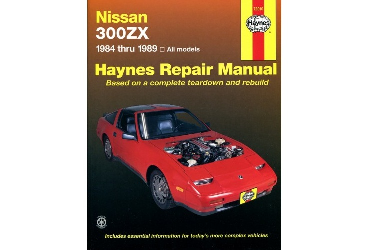 haynes automotive repair manual 72010 nissan 300zx z31 whitehead rh whiteheadperformance com Parts Manual Intek 190 Pressure Washer Manual