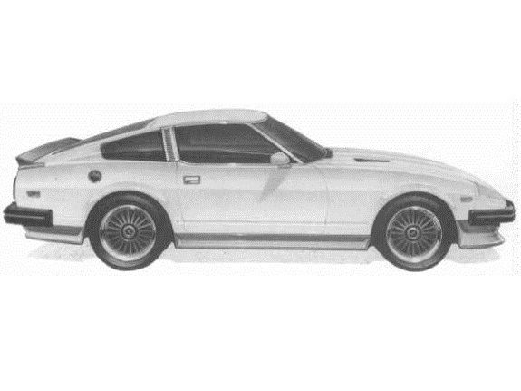 Xenon Urethane Body Kit with Brake Ducts + Rear Spoiler 5179 Datsun 280ZX
