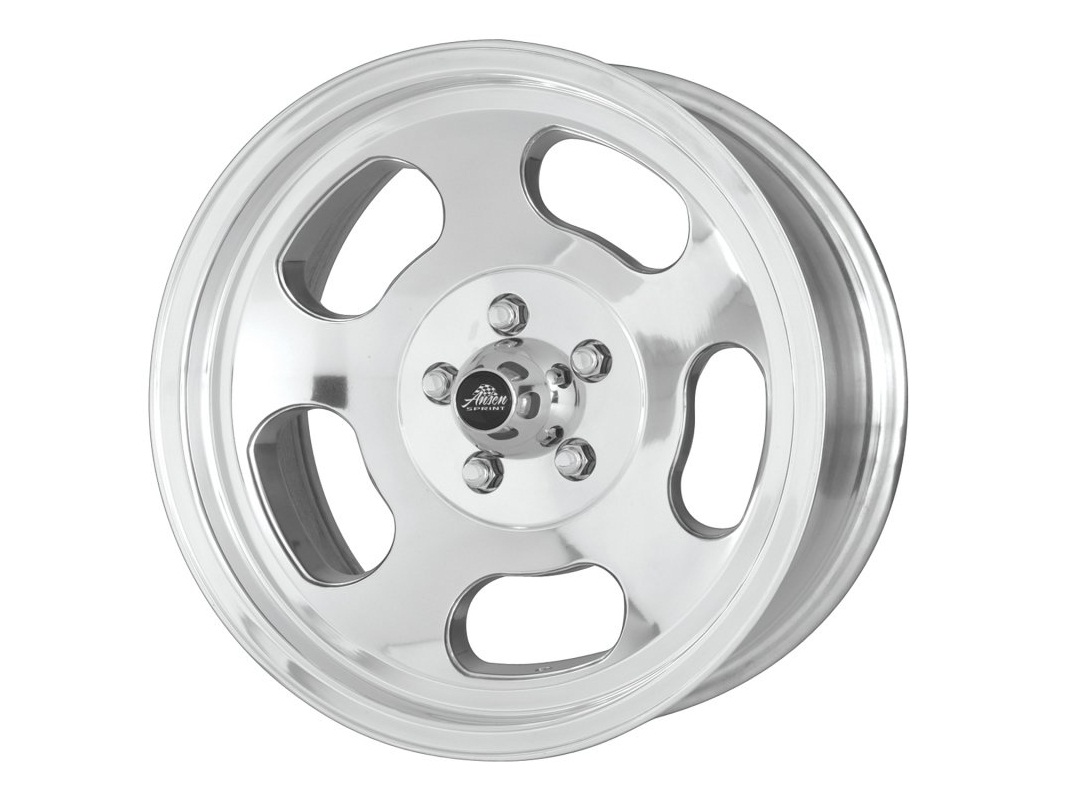 American Racing 15x7 Polished Slot Mag Wheel Kit 0-Offset 4x114 3 VNA695748  Datsun 240Z 260Z 280Z 280ZX 510
