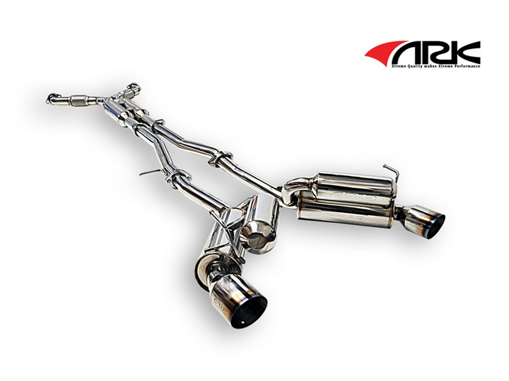 ARK Performance GRIP True Dual Exhaust System Burnt Tip SM1101-0103G  Infiniti G35 Coupe 03-07