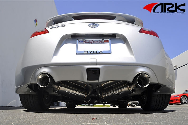 Ark Performance Grip True Dual Exhaust System Polished Tip