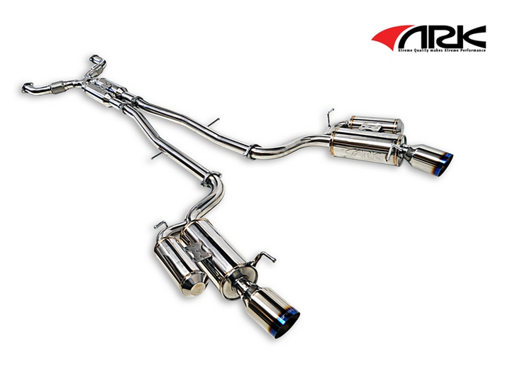 ARK Performance GRIP True Dual Exhaust System Burnt Tip SM1103-0207G  Infiniti G35 G37 Sedan 07-15 Q40