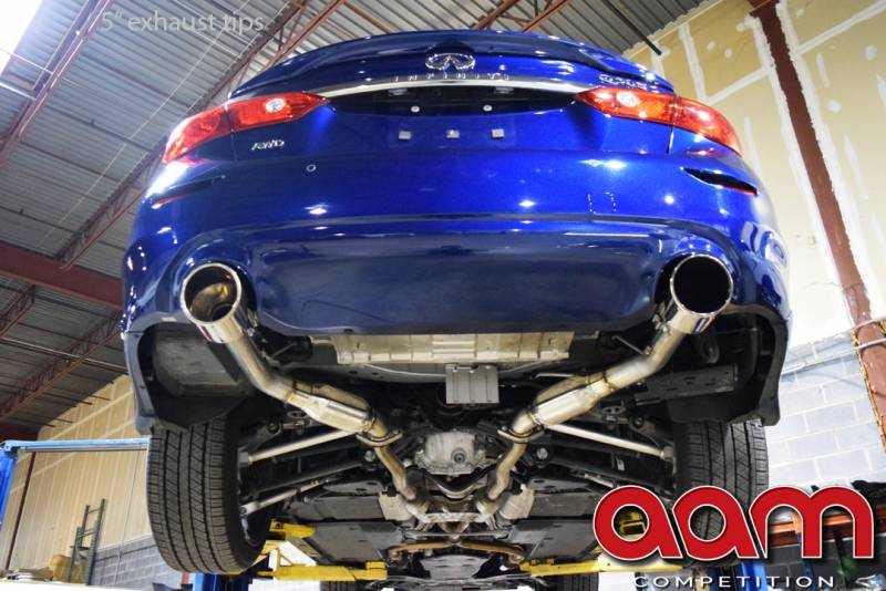 Aam Competition Resonated Short Tail Exhaust System