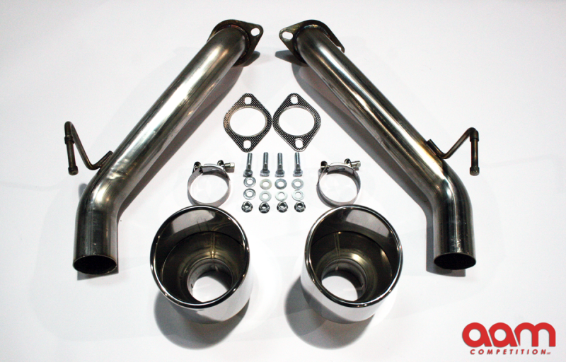AAM Competition S-Line Short Tail Exhaust Nissan 370Z 2009+ Non-Nismo +  Nismo
